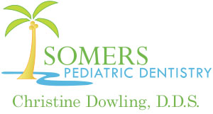 Logo for pediatric dentist Dr. Christine Dowling